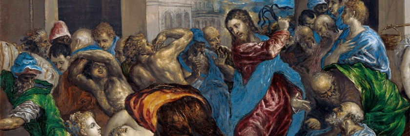 Jesus cleansing the Temple by El Greco (1541-1614)/Wikipedia