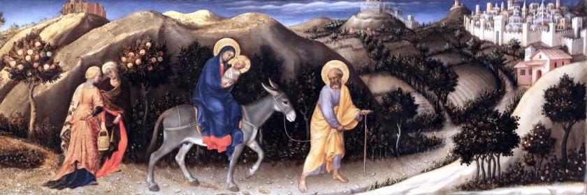 Joseph and Mary traveling to Egypt by Gentile da Fabriano (1370-1427) Credit: jean louis mazieres/Flickr/Creative Commons