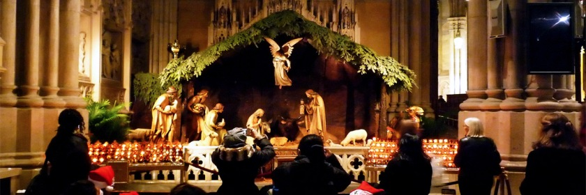 Nativity Scene, New York City Credit: Gary Wong/Flickr/Creative Commons