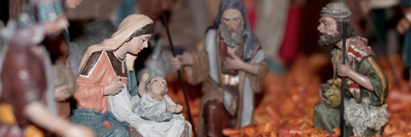 Nativity scene in France Credit: (required by the license) © Guillaume Piolle / CC BY 3.0/Wikipedia