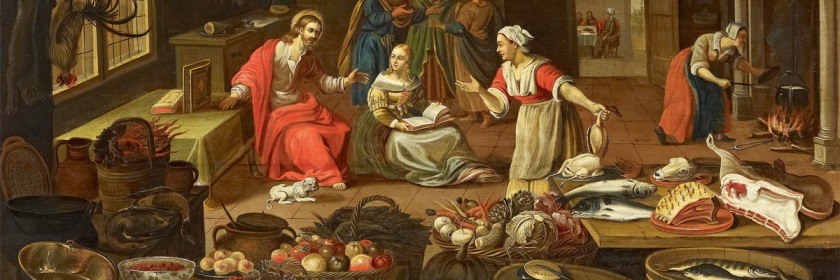 Martha and Mary by Georg Friedrich (1639)/Wikipedia/Public Domain