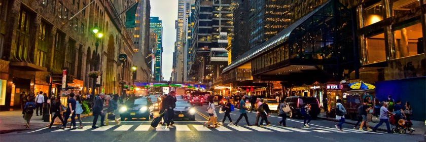 New York City street Credit: Andrea Komodromos/Flickr/Creative Commons