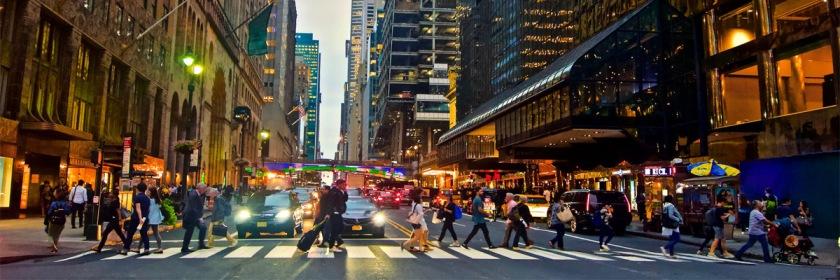 New York City street Credit: Andrea Komodromos/Flickr/Creative Commons