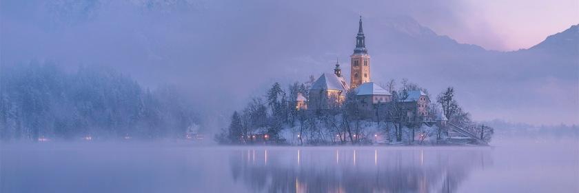 Church on Lake Bled, Slovenia Credit: Alex Krivec/Flickr/Creative Commons