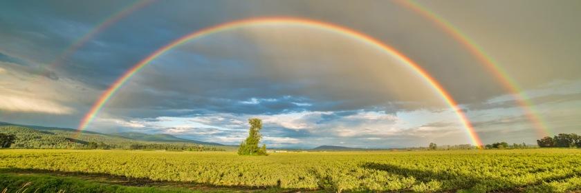 Credit: James Wheeler/Flickr www.souvenirpixels.com/photo-blog/double-rainbow